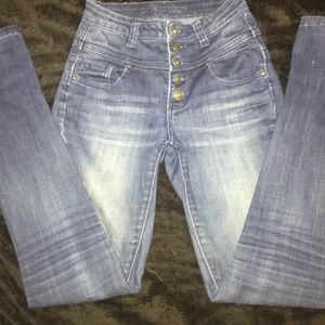 Delias high waisted skinny size 00
